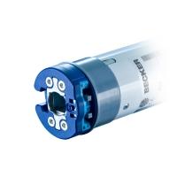 Elektronischer Mini Rohrmotor / Markisenmotor P9-16-E01 (P9/16 PS) | 9 Nm | Serie P