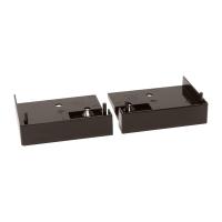 Endkappe für Rolladen-Führungsschiene 60x51   braun   rechts und links (1 Paar)