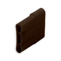 Endstabgleiter - Gleiter Endstab | 20 x 11 mm | braun