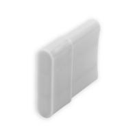 Endstabgleiter - Gleiter Endstab | 20 x 11mm | weiß