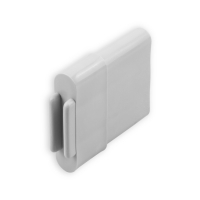 Endstabgleiter - Gleiter Endstab | 25 x 11 mm | grau