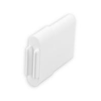 Endstabgleiter - Gleiter Endstab | 25 x 11 mm | weiß