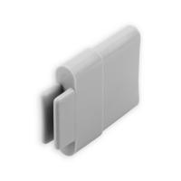 Endstabgleiter - Gleiter Endstab | 30 x 11 mm | grau