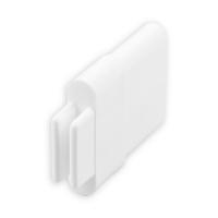 Endstabgleiter - Gleiter Endstab | 30 x 11 mm | weiß