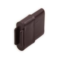 Endstabgleiter - Gleiter Endstab | 30 x 14 mm | braun