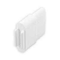 Endstabgleiter - Gleiter Endstab | 30 x 14 mm | weiß