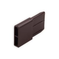 Endstabgleiter - Gleiter Endstab | 29 x 8,8mm | braun