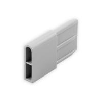 Endstabgleiter - Gleiter Endstab   29 x 8,8mm   grau
