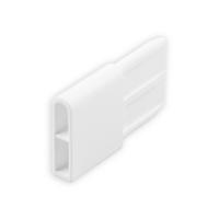 Endstabgleiter - Gleiter Endstab   29 x 8,8mm   weiß