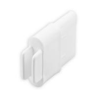 Endstabgleiter - Gleiter Endstab   35 x 14 mm   weiß
