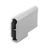 Endstabgleiter - Gleiter Endstab   28 x 12 mm   grau