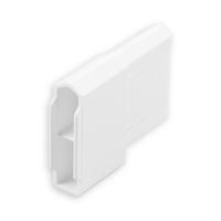 Endstabgleiter - Gleiter Endstab | 28 x 12 mm | weiß