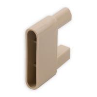 Endstabgleiter - Gleiter Endstab | 60 x 28,8 x 13,6 mm | beige