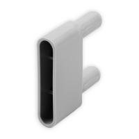Endstabgleiter - Gleiter Endstab | 29 x 13,6 mm | grau