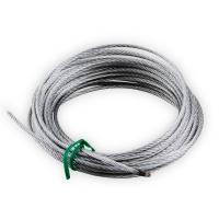 Ersatz-Drahtseil für ARGA B40 und B50 Seilwinde | 8 m lang | Ø 2,4 mm