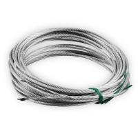 Ersatz-Drahtseil für ARGA C100 Seilwinde | 9 m lang | Ø 3,0 mm