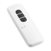 Funk Handsender Centronic MemoControl MC441-II | mit Memoryfunktion | 1-Kanal | weiß