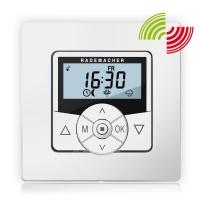Funk-Zeitschaltuhr HomeTimer 9498 DuoFern | mit Rahmen | batteriebetrieben | Ultraweiß