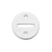 Gurtführung rund | für Gurtband bis 23 mm Breite | Kunststoff | weiß