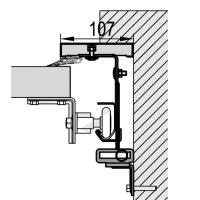 Hinter der Öffnung (mit Rahmen)