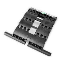 Hochschiebesicherung 2-gliedrig für Maxi-Profile | zum Einclipsen und Anschrauben | für Achtkant Stahlwelle