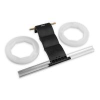 Hochschiebesicherung 3-gliedrig für Maxi-Profile | für 8-kant Stahlwelle Ø 70 mm