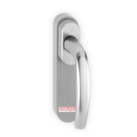 HOPPE Fenstergriff | SecuSignal | silber