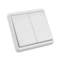 Jalousie Flächentaster | mit Rahmen | Unterputz | weiß