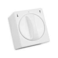 Jalousie-Schalter | 1- polig | Aufputz | ultraweiß