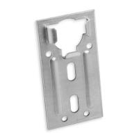 Kastenlager Ø 40 mm aus Metall | flach - verzinkt