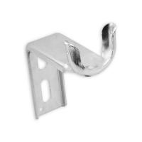 Kastenlager Ø 40 mm aus Metall | nach innen gekantet - verzinkt | Ausladung 90 mm
