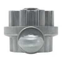Kegelradgetriebe für Markisen | 3:1 | mit Endanschlag | für 78mm Nutrohr