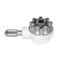 Kegelradgetriebe für Markisen | 3:1 | RAL 9010 | für 78mm Nutrohr