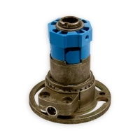 Kegelradgetriebe K006 | Untersetzung 2:1 links | für SW 40 achtkant Stahlwelle