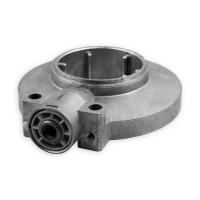 Kegelradgetriebe K076 | Untersetzung 8:1 | 8 mm vierkant | für 60 mm Nutwelle