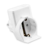 Kombi-Duplex-Stecker 3742 | weiß