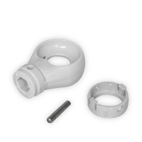 Kugelöse aus Kunststoff | RAL 7035 | 10mm Innensechskant