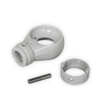 Kugelöse aus Kunststoff | RAL 7035 | 12mm