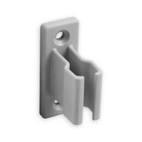 Kurbelhalter | für 12 - 17 mm Kurbeln | Kunststoff | grau