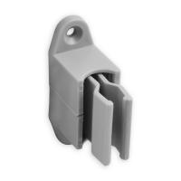 Kurbelhalter | verstellbar | für 12 - 17 mm Kurbeln | Kunststoff | grau