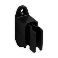 Kurbelhalter | verstellbar | für 12 - 17 mm Kurbeln | Kunststoff | schwarz