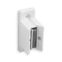 Magnet-Kurbelhalter | für 12 - 17 mm Kurbeln | Kunststoff | weiß