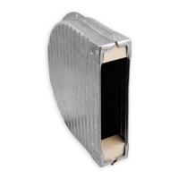 Mauerkasten für 8 m Gurtwickler | Lochabstand 165 mm | Blech