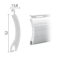 Maxi Rolladen Aluminium | 52 x 13,8 mm | Modell Comet | hartgeschäumt