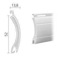 Maxi Rolladen Aluminium | 52 x 13,8 mm | Modell Europa | ausgeschäumt