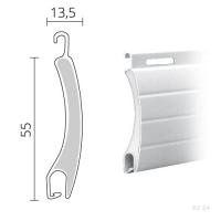 Maxi Rolladen Aluminium | 55 x 13,5 mm | Modell Jupiter | hartgeschäumt
