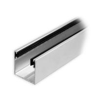 Maxi Aluminium-Führungsschiene | 28 x 28 x 28 mm | mit Neopren-Einlage | pressblank