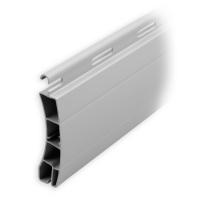 Kunststoff Ersatzlamelle 50 x 14 mm | Modell Frankfurt | Farbe grau | Länge 600mm