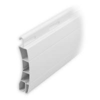 Kunststoff Ersatzlamelle 50 x 14 mm | Modell Frankfurt | Farbe weiß | Länge 600mm