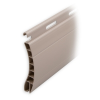 Kunststoff Ersatzlamelle 55 x 14 mm | Modell Aalen | Farbe beige | Länge 600mm